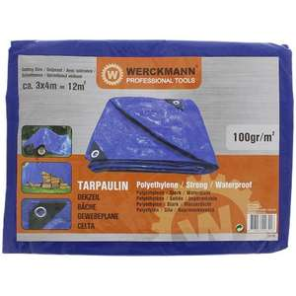 Bâche de protection Werckmann - 3x4m