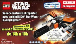 Mini Lego Star Wars X-wing offert