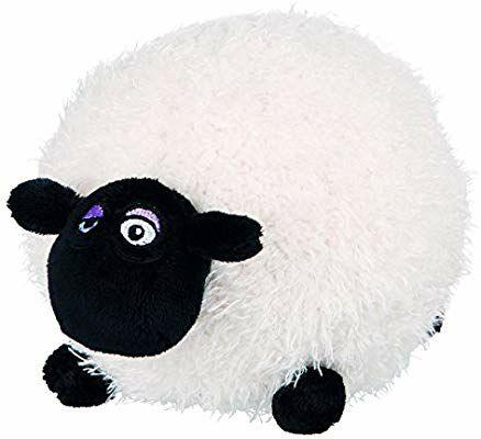 Peluche Trixie Shaun Le Mouton pour Chien (Noir / Blanc) - 18 cm