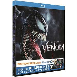 Blu-Ray Venom Edition Spéciale - 10 affiches collector stylisées