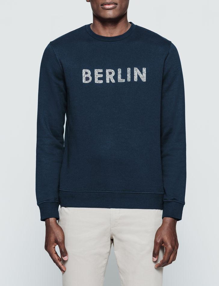 Sélection d'articles en promotion - Ex : sweat-shirt à col rond Berlin (du S au XXL)