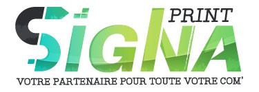 Sélection d'offres promotionnelles  - Ex: 15€ offerts  dès 150€ d'achat sur le site (signa-print.com)