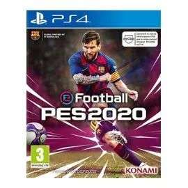 [Précommande] Jeu eFootball PES 2020 sur PS4 (+3,68€ remboursés en SuperPoints - 40,98€ avec le code RAKUTEN5)