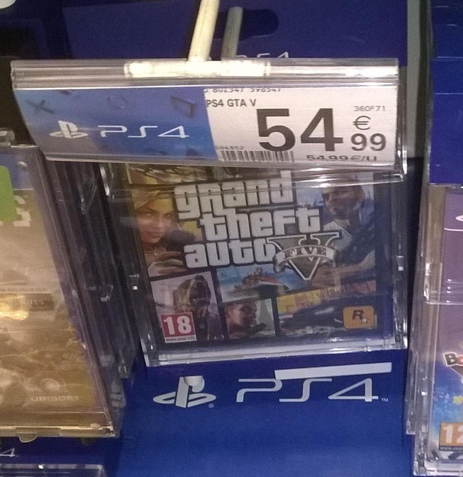 Grand Theft Auto V (GTA V) sur PS4 ou Xbox One