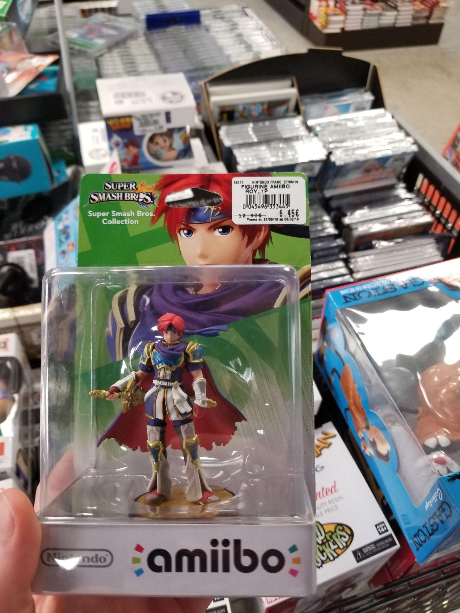 Amiibo Super Smash Bros Roy - Sarlat la Canéda (24)