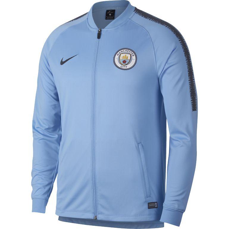 Sélection de vêtements de foot en promotion - Ex: Veste Survêtement Nike Manchester City Bleu Ciel