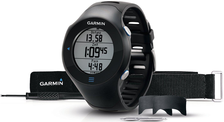 Montre de running GPS Garmin Forerunner 610 avec cardio-fréquencemètre - Noir