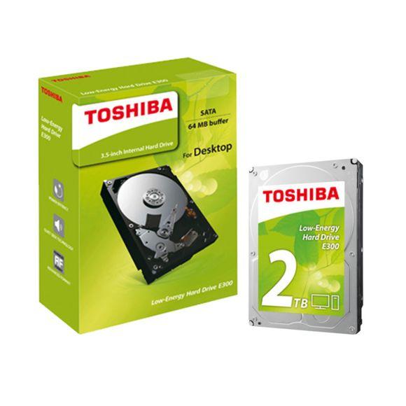 """Disque dur interne 3.5"""" Toshiba E300 - 2 To"""
