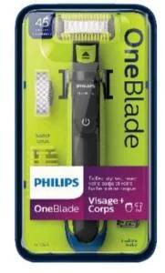 Tondeuse visage et corps Philips OneBlade QP2620/20 (via 19,98 € sur le carte fidelite)