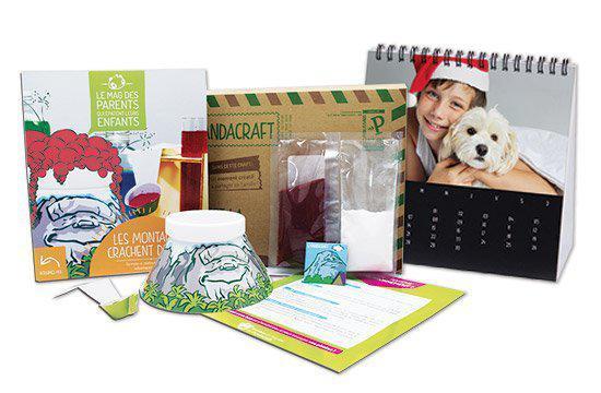 Box Pandacraft contenant des activités conçues pour les 3-7 ans