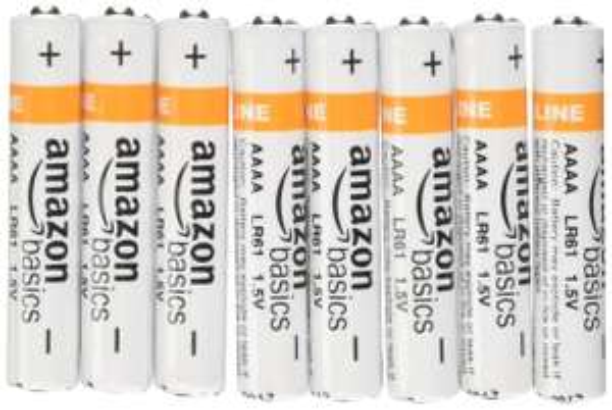 Lot de 8 Piles Alcalines AA AmazonBasics