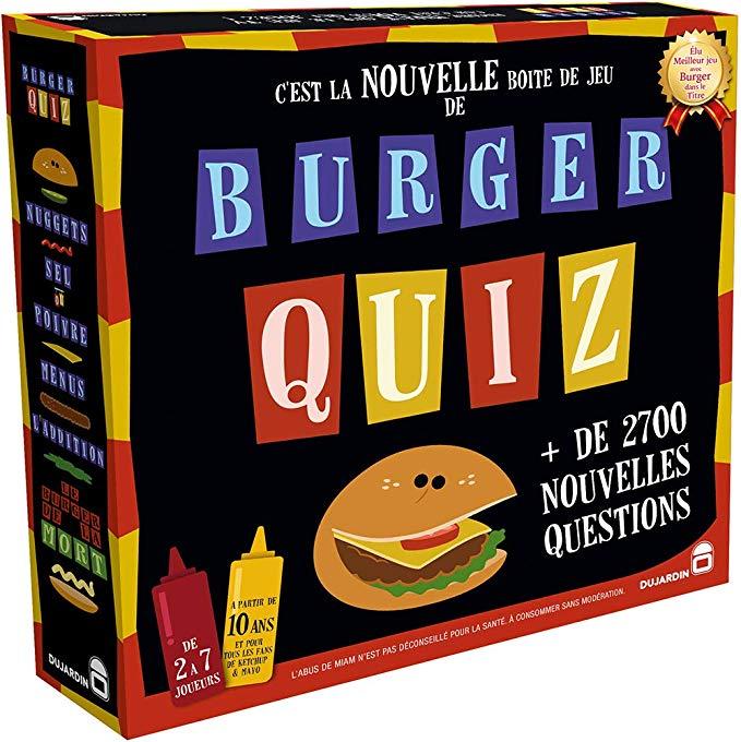1 Jeu Dujardin acheté = 1 offert (le moins cher - parmi une sélection via ODR) - Ex : Burger Quiz + Milles bornes - Le Grand Classique
