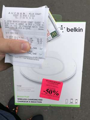 Chargeur à induction Belkin Boostup 7,5 W - Boissenart (77)