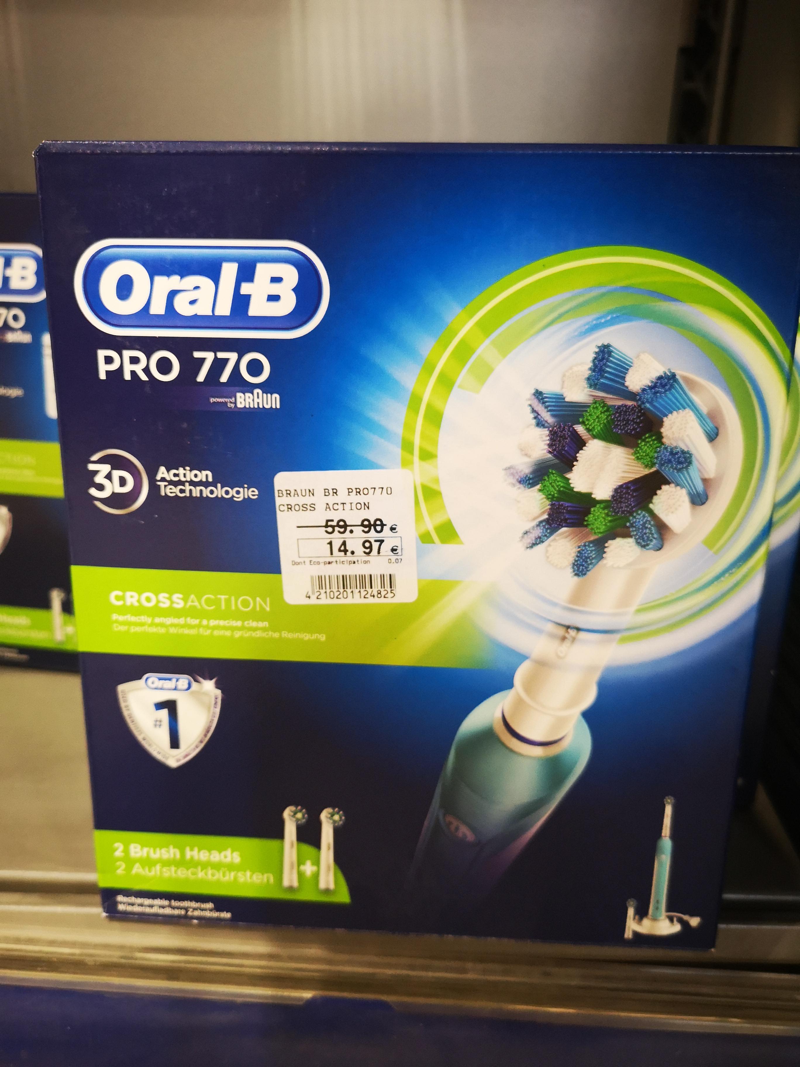 Brosse à dents électrique rechargeable Oral-B Pro 770 CrossAction - Wintzenheim (68)