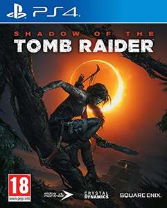 Jeu Shadow of the Tomb Raider - Edition mini + Guide sur PS4