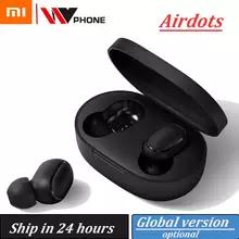 Écouteurs Sans-fil Xiaomi Redmi Airdots TWS Noir - Bluetooth (via application)
