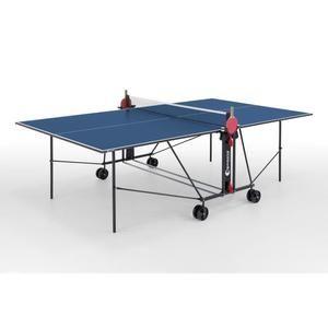 [CDAV] Table de Tennis de table (ou Ping-Pong) Sponeta - Bleu et Noir, Compacte, Usage intérieur + éventuelle offre spéciale