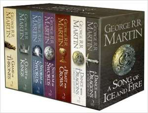 Collection des 7 tomes de Game Of Thrones en version orginale