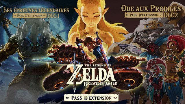 Pass d'extensions The Legend of Zelda: Breath of the Wild sur Nintendo Switch (Dématérialisé - Via eShop sur Console)