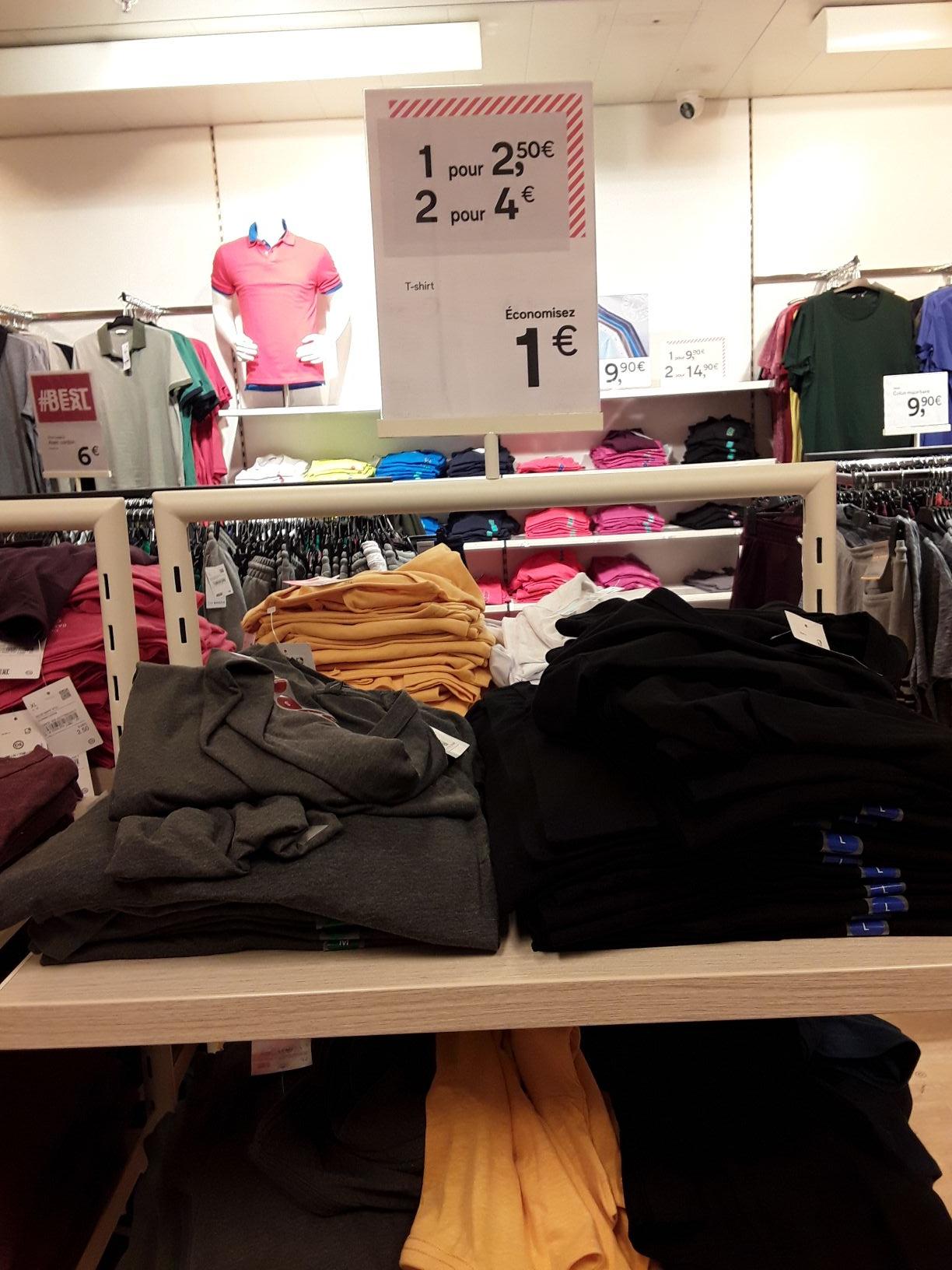 Lot de 2 T-shirts -  Montpellier Antigone (34)