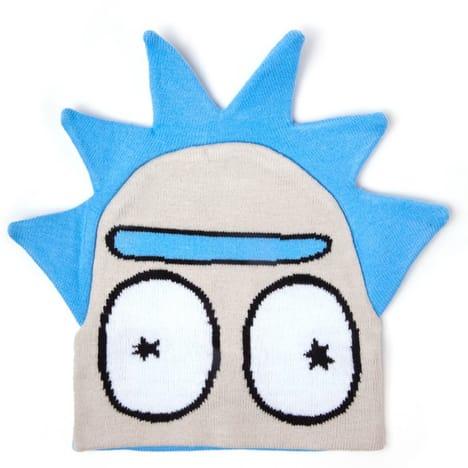 Sélection de bonnets Marvel, Star Wars, Disney, Nintendo et Rick & Morty soldés (licences officielles) - Ex : Bonnet Rick