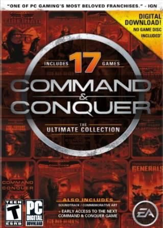 Command & Conquer The Ultimate Collection : 17 jeux/extensions (Dématérialisé - Origin)