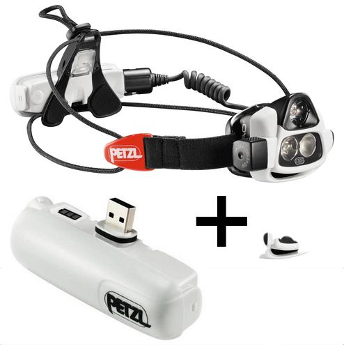 Lampe Frontale Petzl Nao + Accumulateur nao offert (valeur 40€) avec code promo