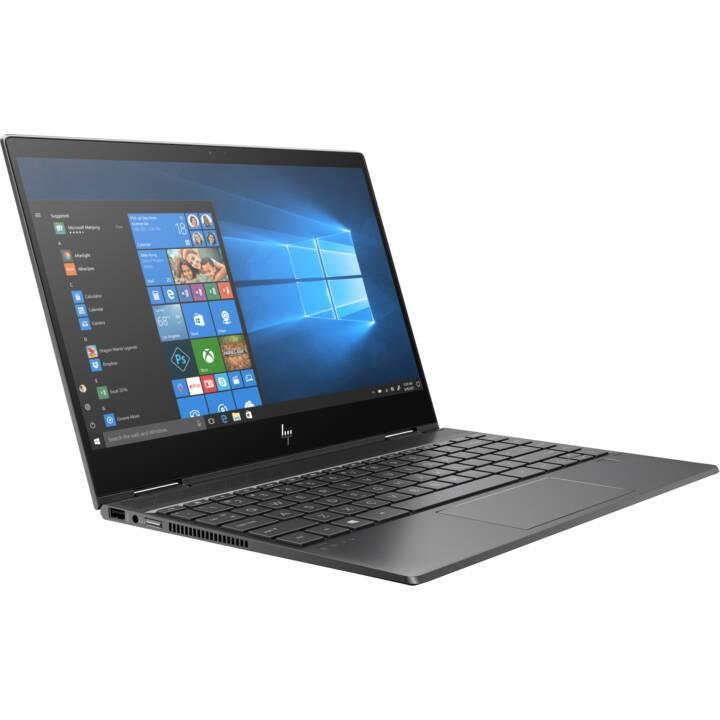 """PC portable 13.3"""" HP Envy X360 - 4K , AMD Ryzen 2500U, 8 GB RAM, 256 Go SSD,Window 10 + Office 365 Offert,  QWERTY (Frontaliers Suisse)"""