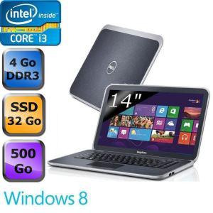 """Portable Dell Inspiron 14"""" SSD 32Go + 500Go 14z-5423 core i3 4go RAM"""