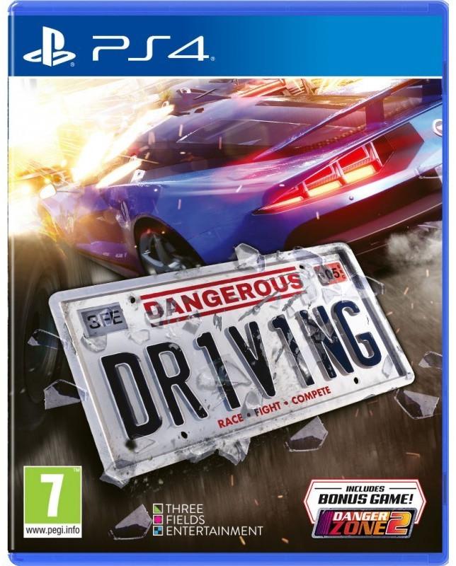 Dangerous Driving sur PS4 - avec Danger Zone 2