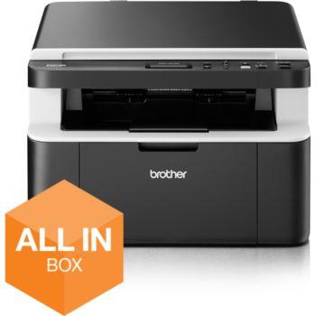 Pack imprimante laser noir & blanc Brother All-in-Box DCP-1612WVB (Wi-Fi) + lot de 5 toners Brother TN1050 (via ODR de 50€)