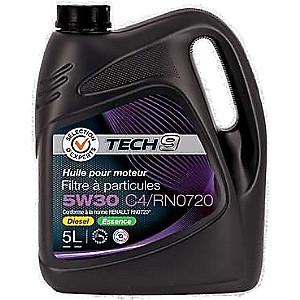 Huile Moteur 5w30 Fap C4 Tech9 - 5L (via 7.98€ sur la carte)
