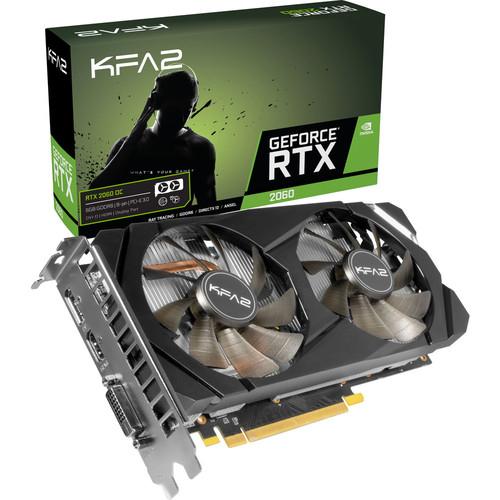 Carte Graphique KFA2 GeForce RTX 2060 (1-Click OC) - 6 Go