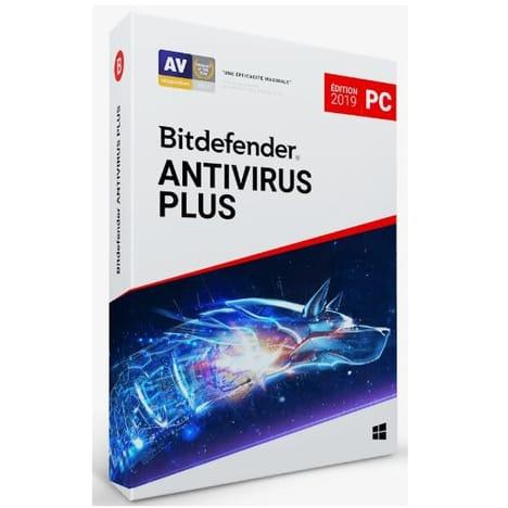 Licence 3 PC Bitdefender Antivirus Plus 2019 Protection 2 ans