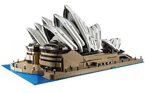 Sélection de jeux Lego en promotion - Ex : L'opéra de Sydney