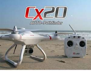 Drone Cheerson CX-20 - Open Source version RTF