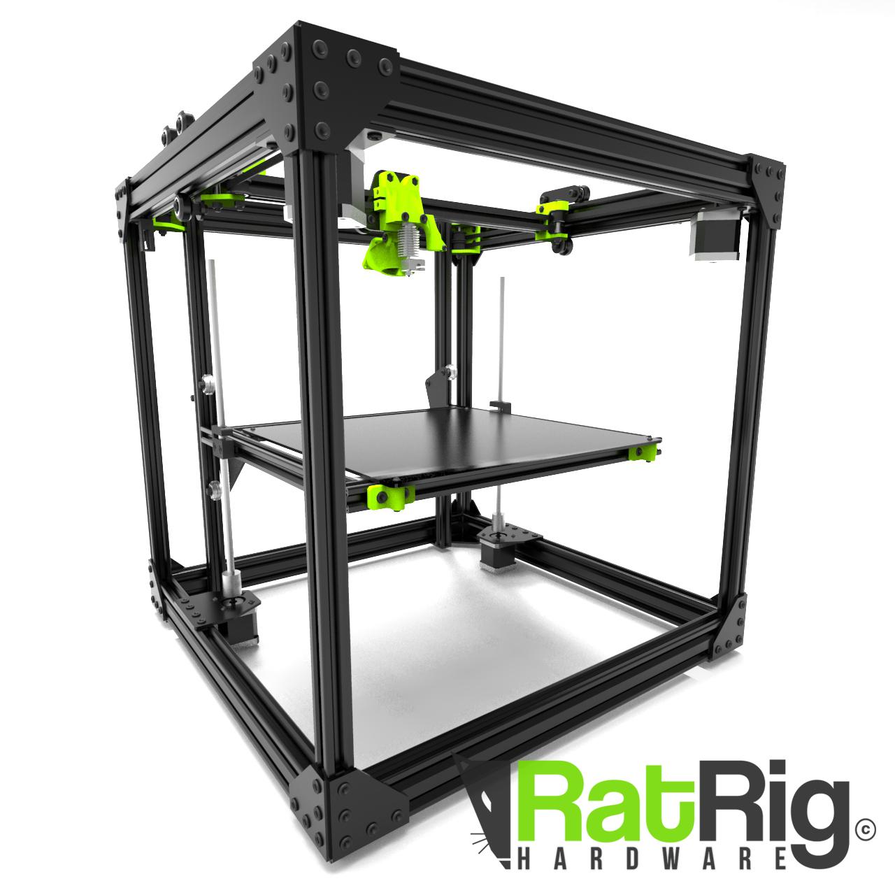 Structure Core XY pour Imprimante 3D (RatRig.com)
