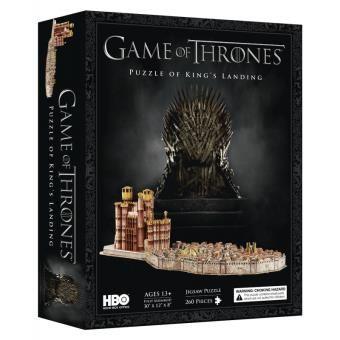 Puzzle de 260 pièces 4D game of Thrones - Cityscape King's Landing
