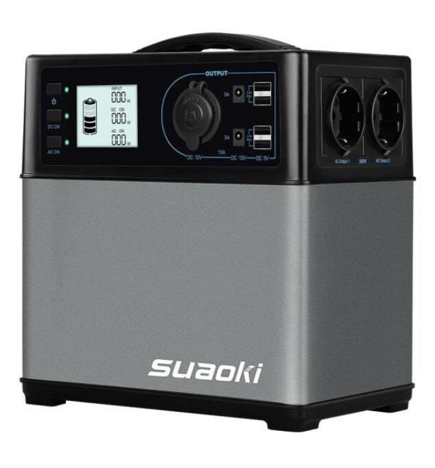 Alimentation Générateur d'énergie solaire portable Suaoki - 400Wh (Vendeur tiers)