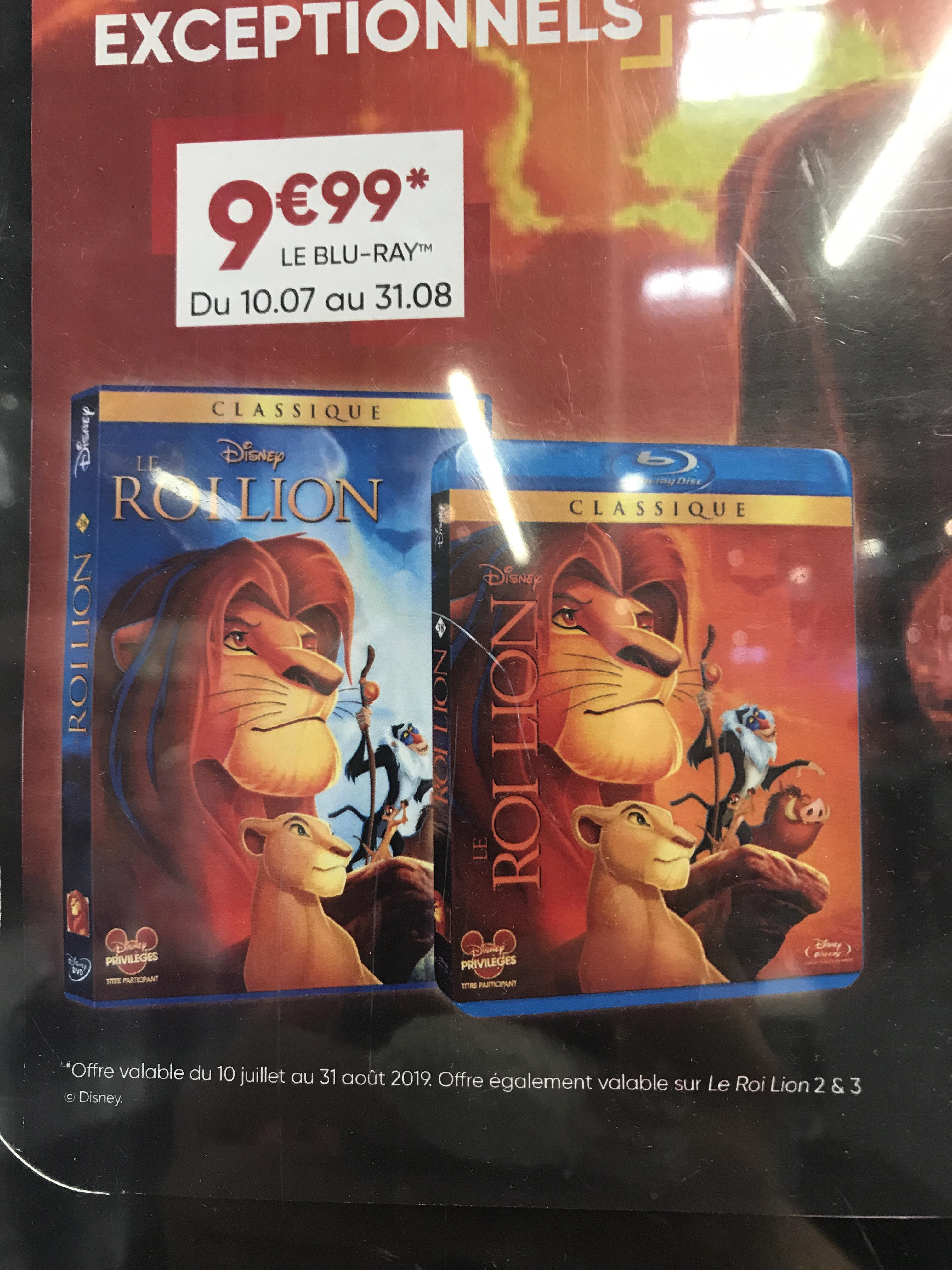DVD ou Blu-Ray Le Roi Lion - Saint Michel sur Orge (91)