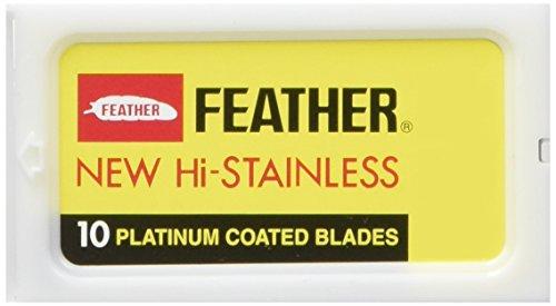 Pack de 30 lames Feather pour rasoir de sûreté DE