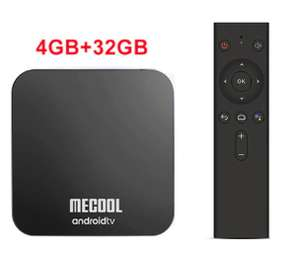 Box TV Android Mecool KM9 Pro - Amlogic S905X2, 4 Go de RAM, 32 Go, Android 9.0