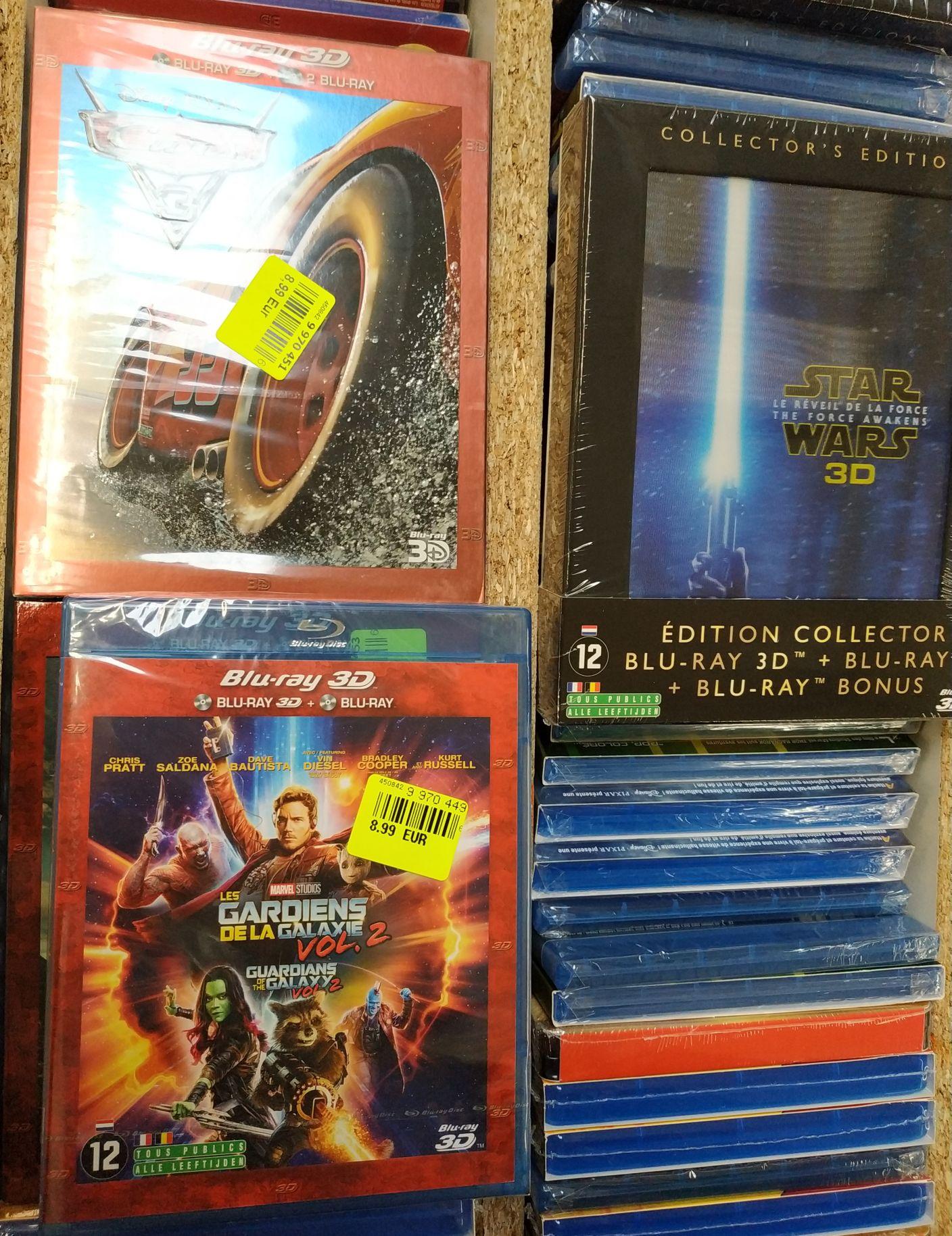 55b8175ff2141 Sélection de Blu-ray 3D, Steelbook, éditions spéciales en promotion (ex: