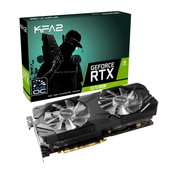 Carte graphique SUPER KFA2 GeForce RTX 2070 SUPER EX - 8 Go + 2 jeux offerts