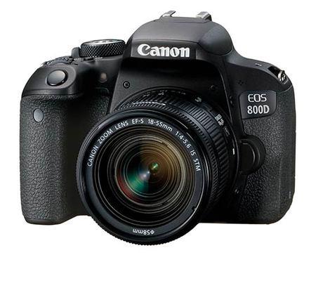 Appareil Photo Numérique Reflex Canon EOS 800D + Objectif EF-S 18-135mm IS STM (Vendeur tiers)