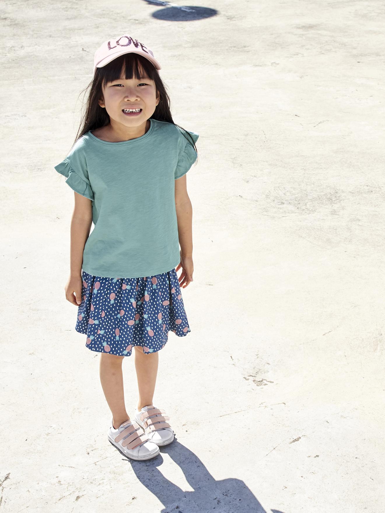 Lot de 3 T-shirts à Manches Courtes pour Enfants - Tailles & Coloris au choix