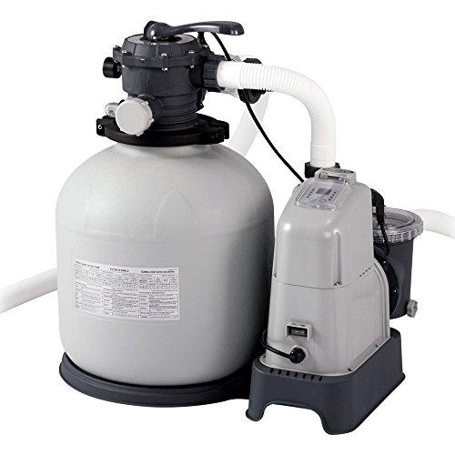 Intex 28680 : combiné filtre à sable et stérilisation au sel avec
