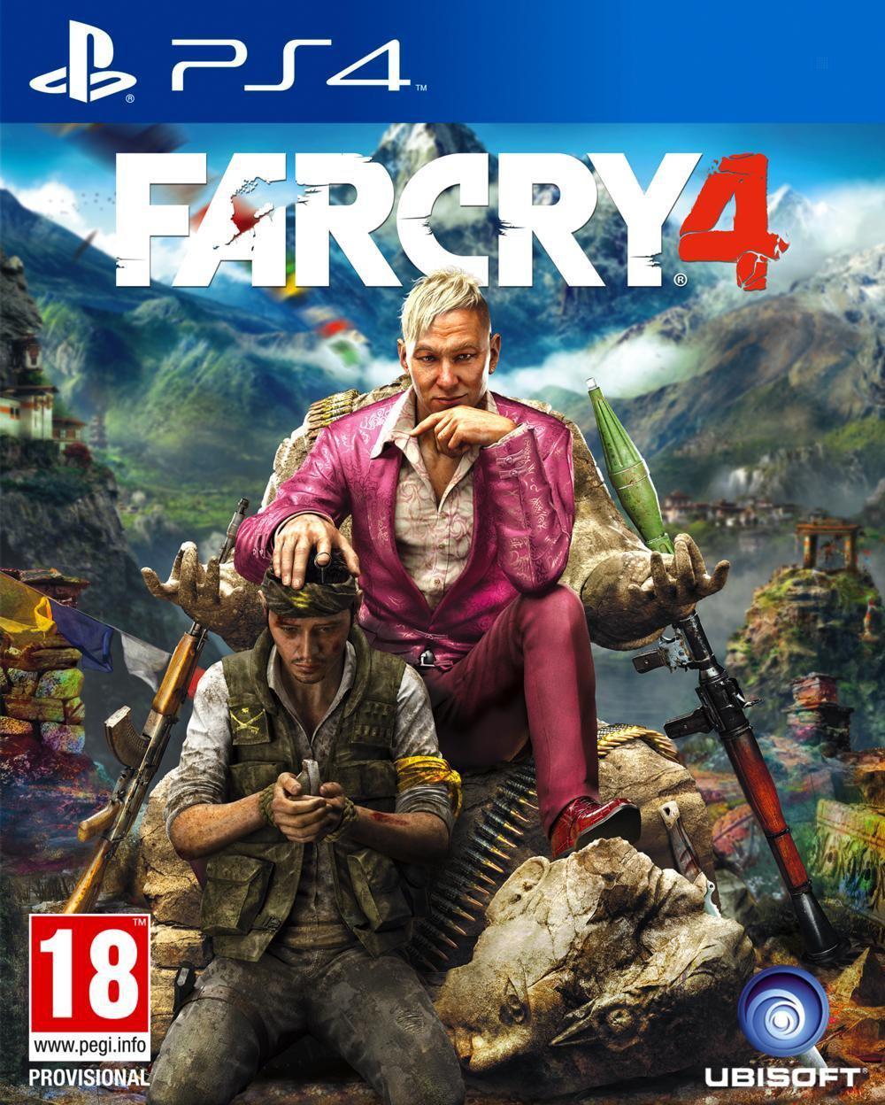 Jeu Far Cry 4 sur PS4