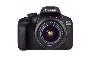 Appareil Photo Reflex Canon EOS 4000D 18 Mpx + Objectif EF-S 18-55 III