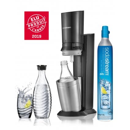 Machine à gazéifier Sodastream Crystal avec bouteille en verre